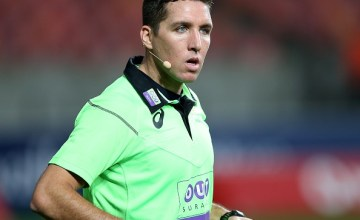 Super Rugby referee Federico Anselmi