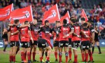 The Crusaders look on before a Super Rugby matc