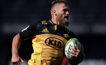 Brad Shields will win his 100th Super Rugby cap for the Hurricanes this weekend