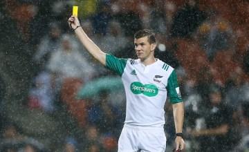 Super rugby Referee Brendon Pickerill