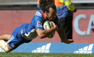 Dillyn Leyds of the Stormers during the Super Rugby match between DHL Stormers and Toyota Cheetahs