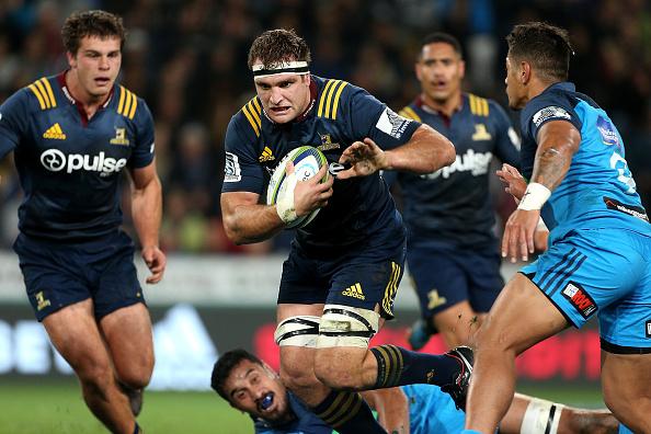 Luke Whitelock of the Highlanders returns to lead his super rugby side