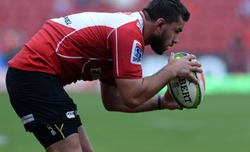 Robbie Coetzee has been named in the Lions Super rugby starting line up