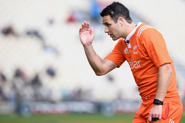 Super rugby referee Ben O'Keefe