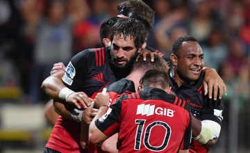 Crusaders Super rugby captain Sam Whitelock