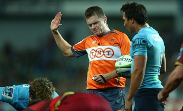Referee Nick Briant will start the Super rugby action this weekend