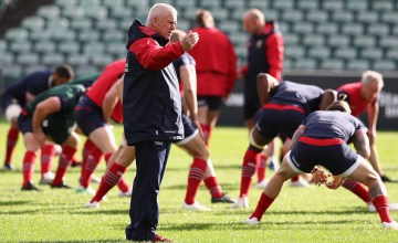 Warren Gatland the Lions head coach