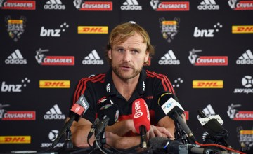 Crusaders Super Rugby Head Coach Scott Robertson