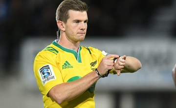Super Rugby Match Referee Brendon Pickerill
