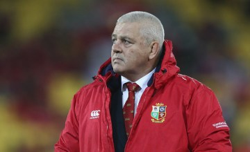 Warren Gatland has been named Chiefs Super rugby coach
