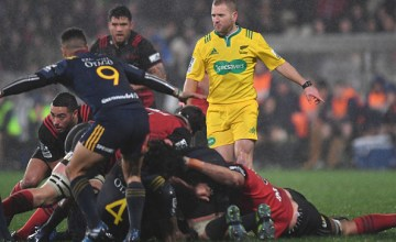 Super rugby Referee Angus Gardner
