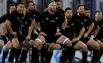 The All Blacks are the Rugby Championship defending champions