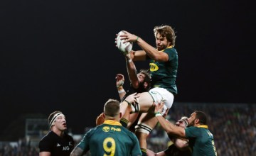 Lood de Jager will start against the All Blacks