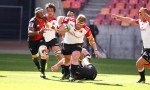 Jacques van Rooyen of the Lions in action during a Super Rugby match