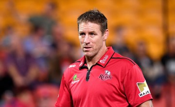 Reds Super Rugby head coach Brad Thorn