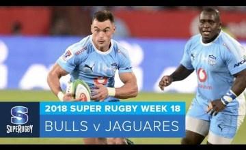 Super Rugby, Super 15 Rugby, Super Rugby Video, Video, Super Rugby Video Highlights ,Video Highlights, Bulls , Jaguares , Super15, Super 15, SuperRugby
