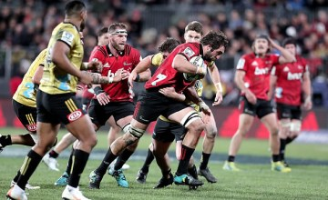 Sam Whitelock and his Crusaders are on a charge to the Super Rugby final