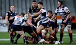Michael Ruru of the Rebels in action during the round 19 Super Rugby match between the Highlanders and the Rebels at Forsyth Barr Stadium