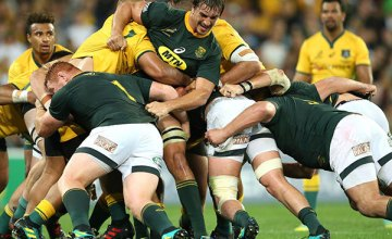 Eben Etzebeth of the Springboks