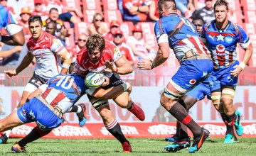 Albertus Kwagga Smith of the Lions during the Super Rugby match between the Lions and Bulls
