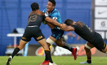 Jaguares win famous victory over Blues