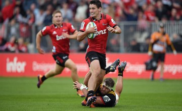 Will Jordan leaves all in his wake as the Crusaders thrash the Chiefs in Christchurch