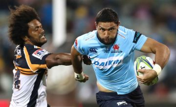 Curtis Rona to start on the wing for the Waratahs
