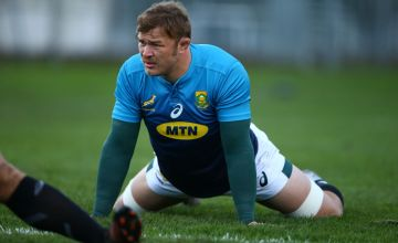 Duane Vermeulen during the South African national rugby team training session