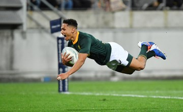 Herschel Jantjies stuns New Zealand as South Africa fight back to draw their Rugby Championship clash at Westpac Stadium, Wellington