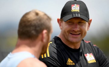 Former All Black loose forward Adam Thomson returns to Super Rugby making his Chiefs debut at six