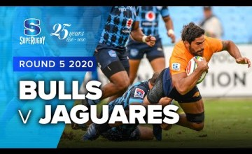 Bulls v Jaguares Rd.5 2020 Super rugby video highlights