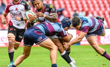 Elton Jantjies leads the Lions to a 27-20 win over the Queensland Reds at Ellis Park, Johannesburg