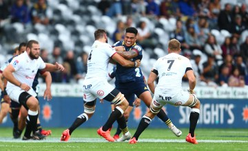 The Sharks put the Highlanders to the sword at Forsyth Barr Stadium, Dunedin