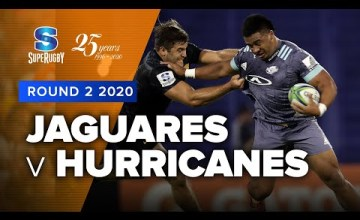 Jaguares v Hurricanes Rd.2 2020 Super rugby video highlights