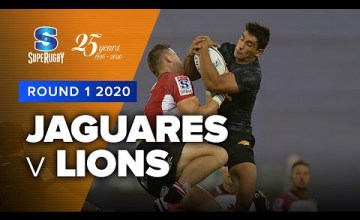Lions v Jaguares Rd.1 2020 Super rugby video highlights