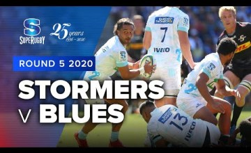Stormers v Blues Rd.5 2020 Super rugby video highlights