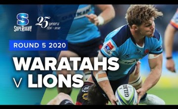 Waratahs v Lions Rd.5 2020 Super rugby video highlights