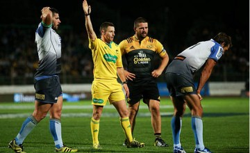 Super rugby referee Paul Williams