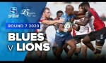 Blues v Lions Rd.7 2020 Super rugby video highlights
