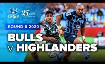 Bulls v Highlanders Rd.6 2020 Super rugby video highlights