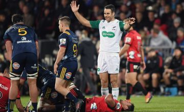 Super Rugby Referee Ben O'Keeffe
