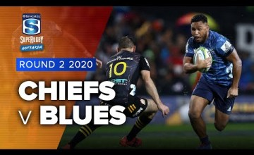 Chiefs v Blues Rd.2 2020 Super rugby Aotearoa video highlights | Super Rugby Aotearoa Video Highlights