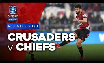 Crusaders v Chiefs Rd.3 2020 Super rugby Aotearoa video highlights