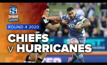 Chiefs v Hurricanes Rd.4 2020 Super rugby Aotearoa video highlights