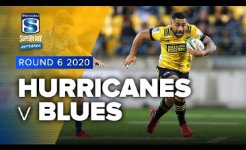 Hurricanes v Blues Rd.6 2020 Super rugby Aotearoa video highlights