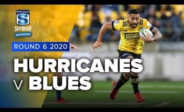 Hurricanes v Blues Rd.6 2020 Super rugby Aotearoa video highlights