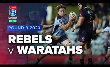 Rebels v Waratahs Rd.9 2020 Super rugby AU video highlights | Super Rugby AU Video Highlights