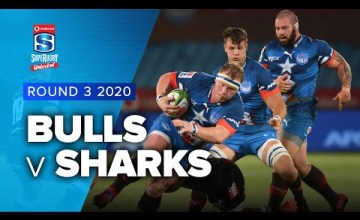 Bulls v Sharks Rd.3 2020 Super rugby unlocked video highlights | Super Rugby unlocked Video Highlights