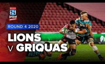 Lions v Griquas Rd.4 2020 Super rugby unlocked video highlights