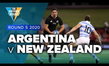 Argentina v New Zealand Rd.5 2020 TriNations Rugby Championship video highlights